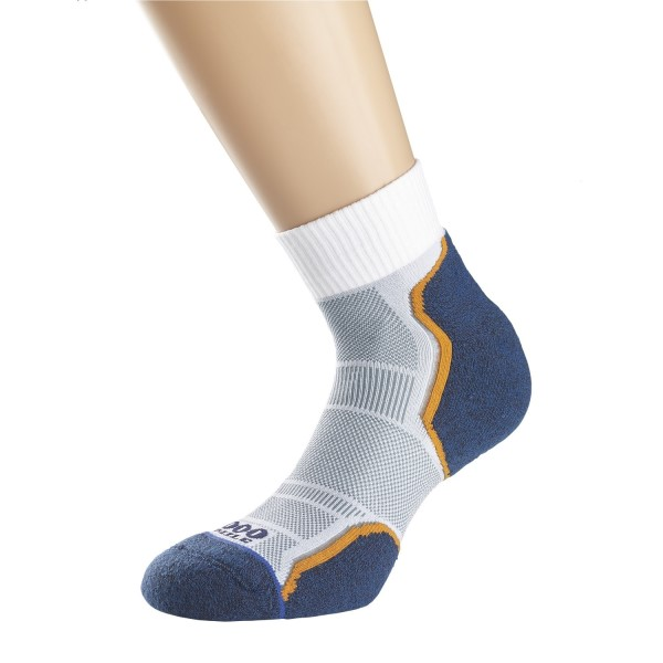 Men's Clothing White Discounts Sale 1000 Mile Double Layer Trainer Liner Mens Running Socks